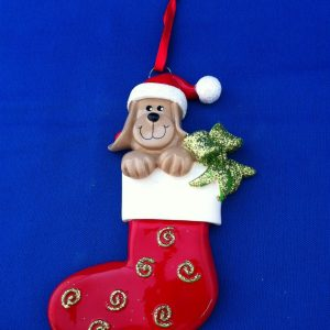 Dog Stocking ornament