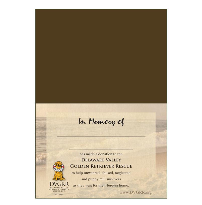 Donation greeting card treasured memory of a pet the amount of donation greeting card m4hsunfo